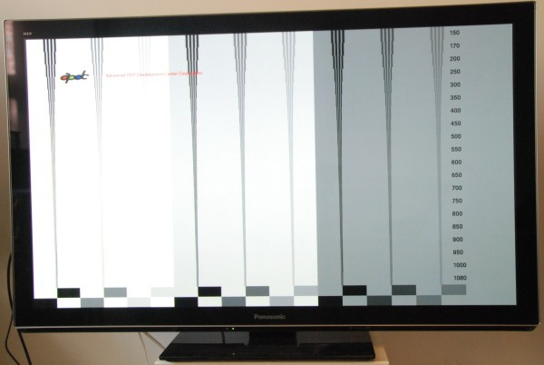 AV-Blog Panasonic TX-P50VT30 motion resolution