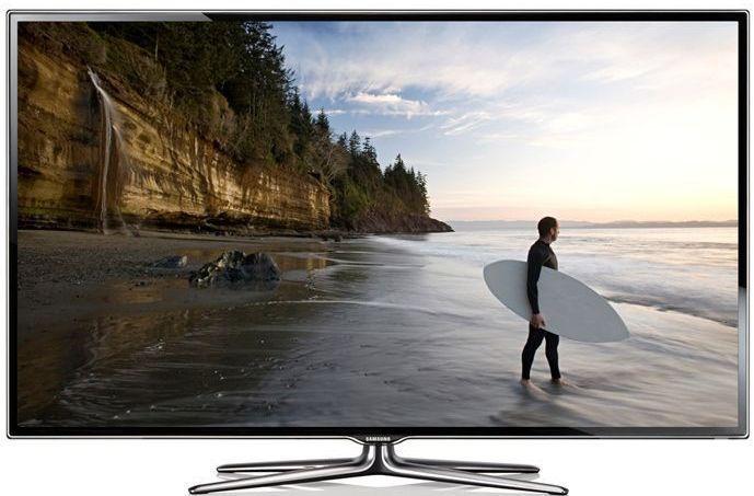 test fladskærm tv