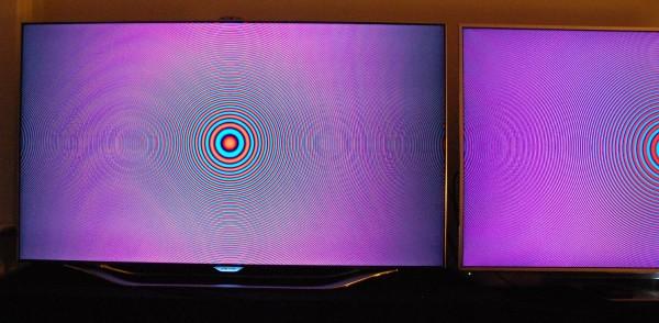 Samsung UE55ES8005 Chroma opsampling fejl