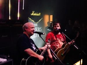 Tenacious D spiller til Marshall fest