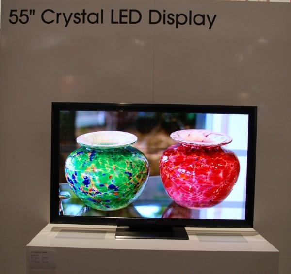 av-blog CES2012 Sony Crystal LED fladskærm