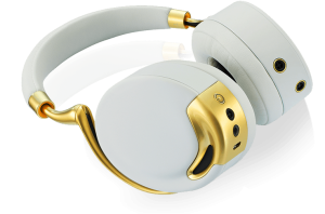 Parrot Zik over ear høretelefon i yellow gold