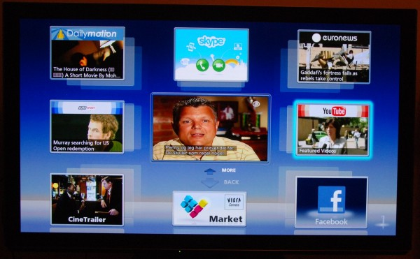 AV-Blog Panasonic TX-P50VT30 viera connect