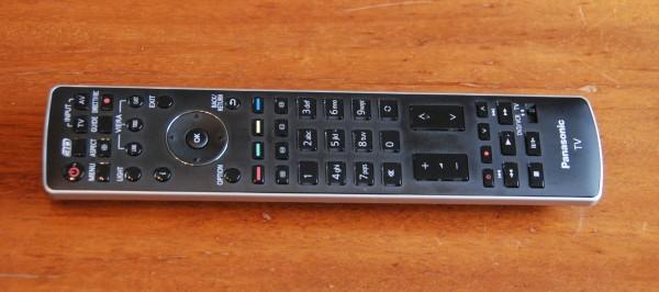 AV-Blog Panasonic TX-P50VT30 fjernbetjening
