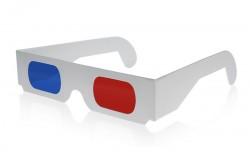 Anaglyf 3D briller ipap