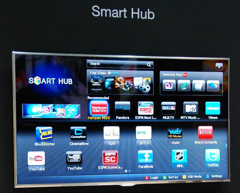 Samsung Smart TV - Smart Hub