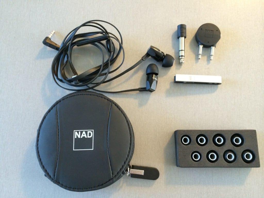 NAD HP20 in-ear med tilbehør