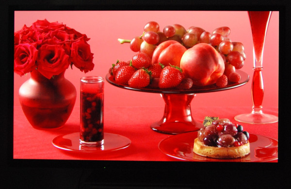 Panasonic Plasma TV TX-P65ST50 farvenuancering