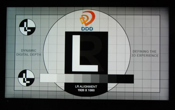 Panasonic TX-L55DT50 3D crosstalk venstre