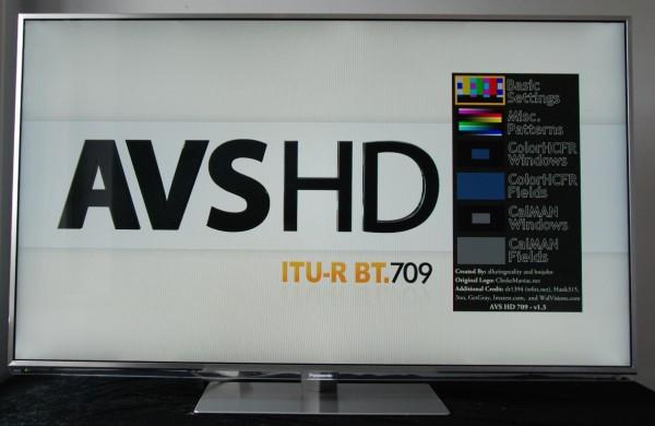 Panasonic TX-L55DT50 AVSHD disk