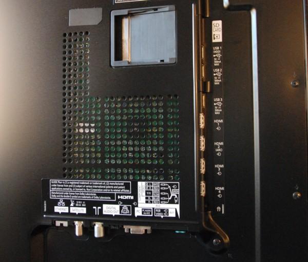 Panasonic TX-L55DT50 tilslutninger