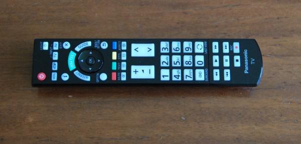 Panasonic fjernbetjening 2012