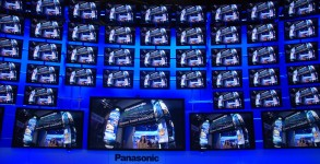 AV Blog CES2012 Panasonic Plasma Video Wall