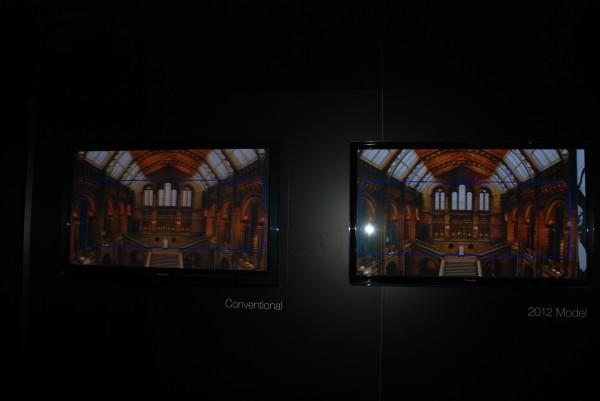 AV Blog CES2012 Panasonic new better black level plasma