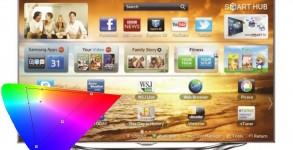 Samsung LED TV ES8005 anbefalede indstillinger