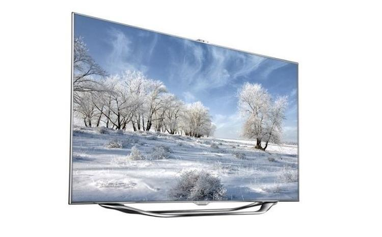 hvid samsung smart tv